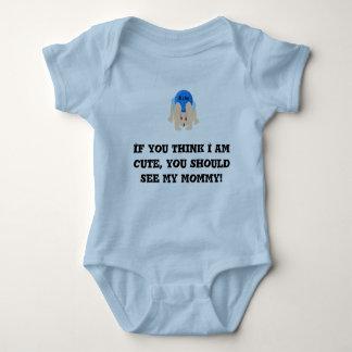 Body Para Bebê Bebê upside-down