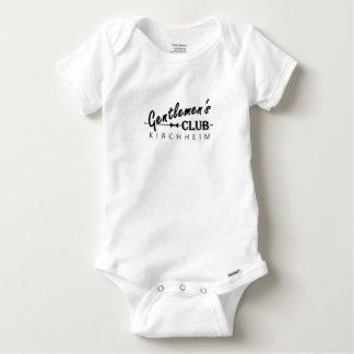 "Body Para Bebê Bebês Thingy ""Kirchheim "" do clube dos cavalheiros"