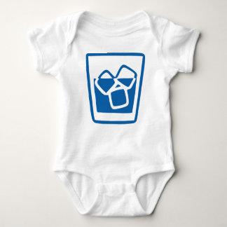 Body Para Bebê Bebida com gelo