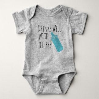 Body Para Bebê bebidas bem com outro