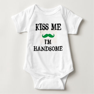 Body Para Bebê BEIJE-ME que eu sou DIA CONSIDERÁVEL do ST.