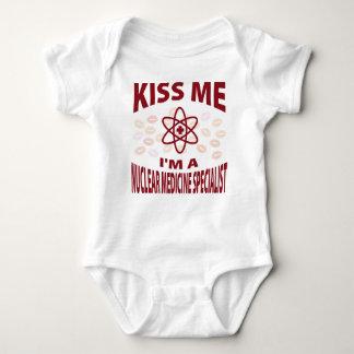 Body Para Bebê Beije-me que eu sou um especialista nuclear da