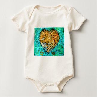 Body Para Bebê Beleza de Saratoga
