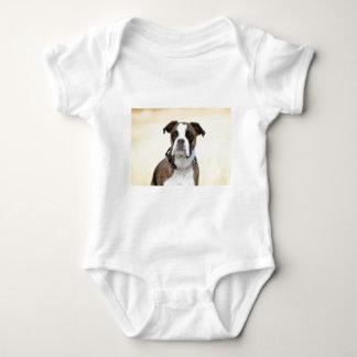 Body Para Bebê Benson o cão do pugilista