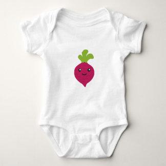 Body Para Bebê Beterraba bonito de Kawaii