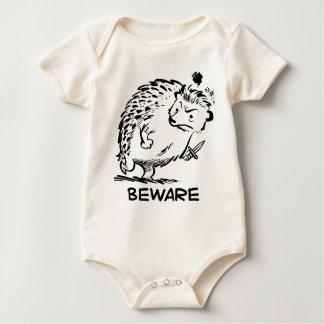 Body Para Bebê Beware