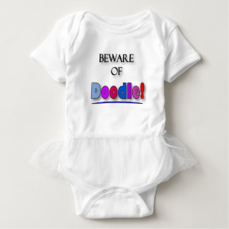 Body Para Bebê Beware do Doodle