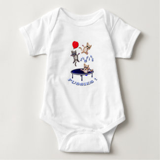 Body Para Bebê bichanos de salto do amor
