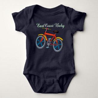 Body Para Bebê Bicicleta da bicicleta do bebê da costa leste uma