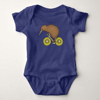 Body Para Bebê Bicicleta da equitação do quivi com rodas do quivi