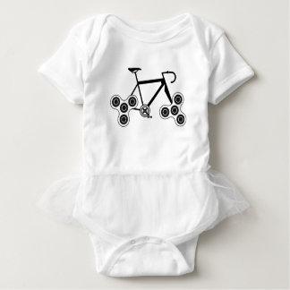 Body Para Bebê Bicicleta do girador da inquietação