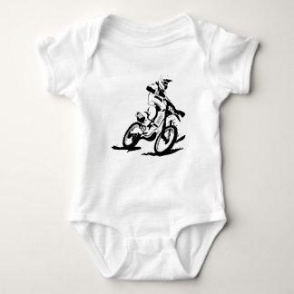 Body Para Bebê Bicicleta e cavaleiro simples de Motorcross