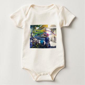 Body Para Bebê Bicicletas, balões e fermentações