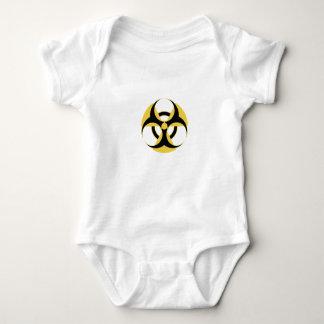 Body Para Bebê Biohazard radioativo