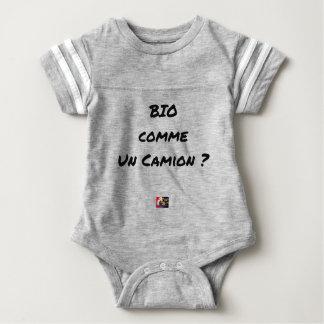 Body Para Bebê BIOLÓGICO COMO UM CAMIÃO? - Jogos de palavras
