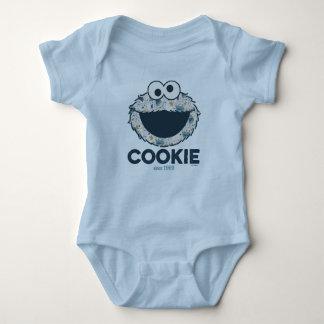 Body Para Bebê Biscoito do monstro   do biscoito desde 1969