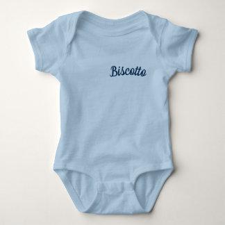Body Para Bebê Biscotto/pouco azul do Bodysuit do bebê do