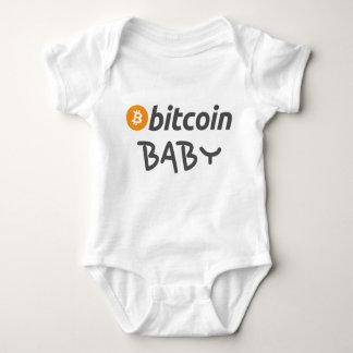 Body Para Bebê Bitcoin Babygrow