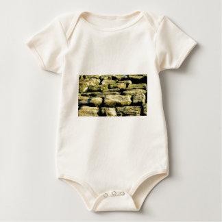 Body Para Bebê blocos do amarelo de rocha