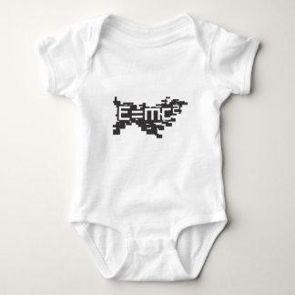 Body Para Bebê Blocos E=mc2
