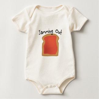 Body Para Bebê Bloqueio para fora