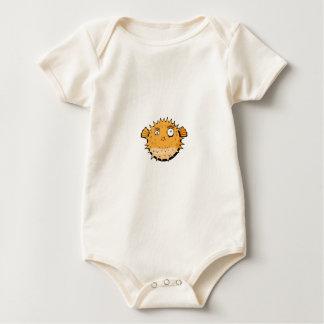 Body Para Bebê Blowfish