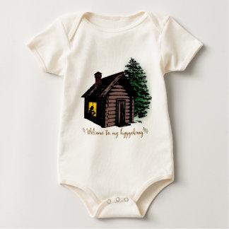 Body Para Bebê Boa vinda a meu Hyggekrog
