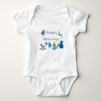 Body Para Bebê Boas festas