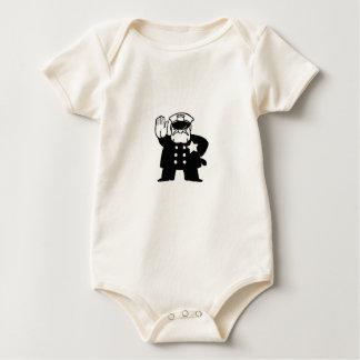 Body Para Bebê bobina severo dos desenhos animados