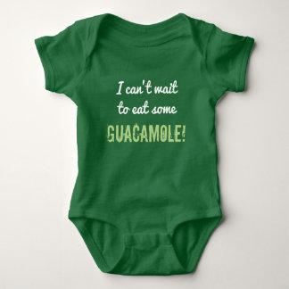 """Body Para Bebê Bobo """"que eu não posso esperar para comer algum"""