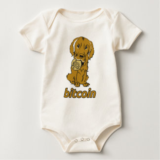 Body Para Bebê Bocado Coin_Retriever_wear