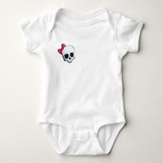 Body Para Bebê Body básico caveira