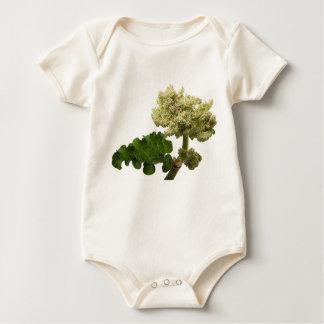 """Body Para Bebê Body biológico para bebé """"a Bonita Flor """""""