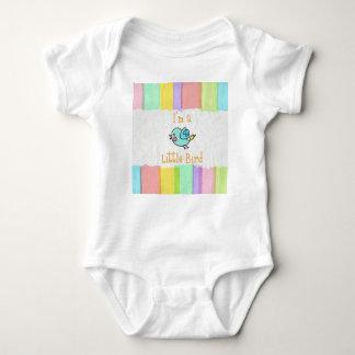 Body Para Bebê Body branco Little Bird