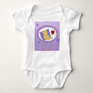 Body Para Bebê Body com Bärchen dormentes para raparigas