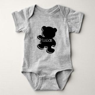 Body Para Bebê Body em jersey para bebé, Nounours