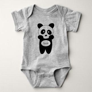 Body Para Bebê Body em jersey para bebé, Panda bebé