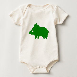 Body Para Bebê Body - Javali das Ardenas - BIOLÓGICO