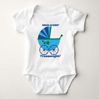 "Body Para Bebê Body ""Meu primeiro carro de sonho """