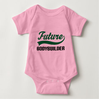 Body Para Bebê Bodybuilder (futuro)