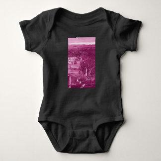 Body Para Bebê Bodysuit 1879 do bebê do mapa de Brooklyn do
