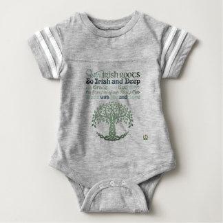 Body Para Bebê Bodysuit 18M 53086Cc2 do bebê do dia do St Patrick