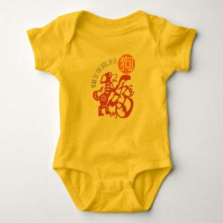 Body Para Bebê Bodysuit 2018 chinês do bebê do ano novo Y de