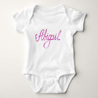 Body Para Bebê Bodysuit Abigail do jérsei do bebê