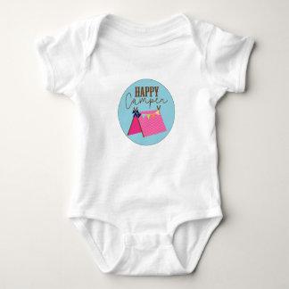 Body Para Bebê Bodysuit boémio do bebê do campista feliz