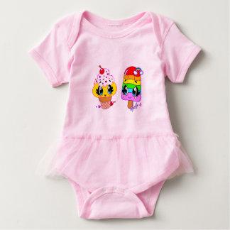 Body Para Bebê Bodysuit bonito do bebê da arte dos deleites do