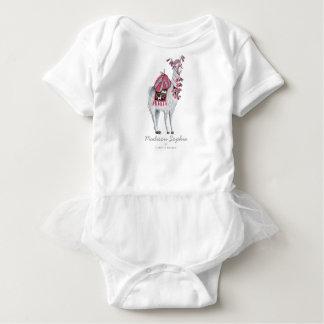Body Para Bebê Bodysuit bonito do bebé | do animal | do lama
