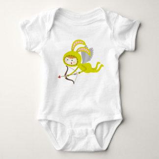 Body Para Bebê Bodysuit bonito do bebê do coelho do anjo