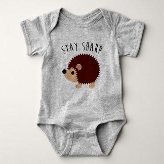 Body Para Bebê Bodysuit bonito do bebê do ouriço