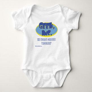 Body Para Bebê Bodysuit cómico do bebê de Geek, Inc.